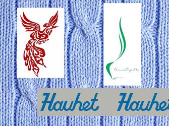 Текстильные бирки атлас
